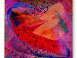 Image: Unicorn Punch   Abstract Art from artist Maxximillian Victorious. c. 2020
