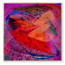 Image: Unicorn Punch | Abstract Art from artist Maxximillian Victorious. c. 2020
